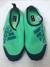 Adidas Size 3 Kurobe Slip-On Water Sneaker Youth Kids Green