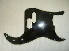 '72 -'79 Fender Precision Pickguard P bass Black guard '73 '74 '75 AGED  relic