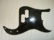 '72 -'79 Fender Precision Pickguard P bass Black guard '73 '74 '75 AGED  relic