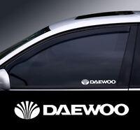 Daewoo Logo Window Decal Sticker Graphic *Colour Choice*