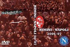 DVD RIMINI-NAPOLI  2006/07(VECCHI LIONS,ULTRAS NAPOLI,CURVA A,PARTENOPEI,FEDAYN)