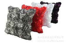 Nesest Hot Rose Bed Sofa Pillow Cushion Case Cover Home Decor Red 42cm*42cm