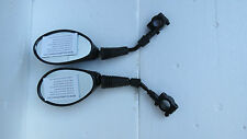Powerchair gas scooter Electric scooter bicycle mirror pair 8mm with hardware