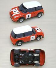 2007 Micro Scalextric Mini Cooper Ho Slot Car Uk Red #1
