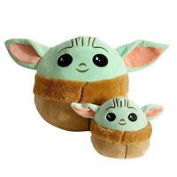 "Star Wars Baby Yoda plush Doll Mandalorian Stuffed Toy Pillow Kids Gift 5/10"""