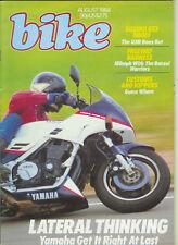 Bike Aug 1984 Yamaha FJ1100 Suzuki GSX1100 EF San Francisco Police