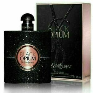 YSL BLACK OPIUM BY YVES SAINT LAURENT 3.0 OZ 90ML EDP WOMENS 3 OZ NEW SEALED BOX