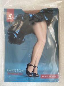 Rumpf 120 Glanzstrumpfhose Shimmery toast 70den 12/14 dance tight Gardetanz