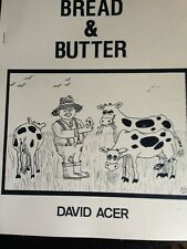 David Acer's Bread & Butter and Toast & Jam Autographed 1993