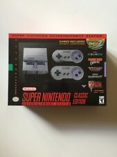 SNES Classic Mini Edition Super Nintendo Entertainment System Brand New In Box