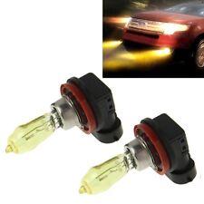 2 X H11 HOD Xenon Bulbs 12V 100W 3500K Yellow Light Headlights