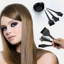 4Pcs Hair Coloring Dyeing Kit Salon Color Dye Brush Comb Mixing Bowl Tint Tools