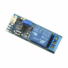 5-30V Micro USB Power Trigger Delay Relay Timer Control Switch Module