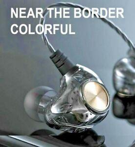 Original Fonge K1 Transparent In-Ear Earphone Subwoofer Stereo Bass Earbuds
