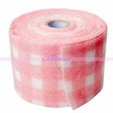 Acrylic Gel Clean Remover Roll Wipe Lint  Pink Paper Towel Nail Art Polish 30m