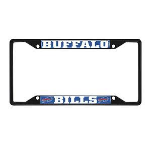 Fanmats NFL Buffalo Bills Black Metal License Plate Frame Del. 2-4 Days