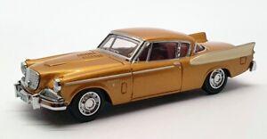 Matchbox Dinky 1/43 Scale DY-26 - Studebaker Golden Hawk - Gold