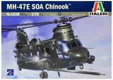 BOEING MH-47 E SOA CHINOOK (U.S. SPEC OPERATION MKGS)#1218 1/72 ITALERI