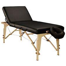 MT Massage 30 inch Midas Tilt Portable Table Package Backrest SPA Black