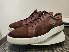 Sneakers Men's Shoes Size 11.5 M Brown Suede Leather Lace Up Johnston & Murphy