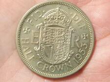 More details for proof 1953 half crown coin elizabeth ii #m23