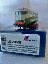 LE 20651 Locomotiva FS e646.002 livrea grigio nebbia-verde. Dep. Firenze