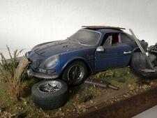 Renault Alpine A110 Umbau Diorama Scheunenfund 1:16 Oldtimer 1:18