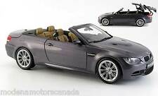 2008 BMW M3 E93M SERIES M3 CABRIOLET GRAY BY KYOSHO 1:18 WITH WORKING ROOF