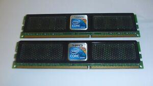 OCZ 4GB (2 x 2GB) DDR3 RAM Memory 12800u Desktop Performance 1.65V CL8 Dual