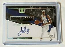 New listing 2020-21 Panini Impeccable Basketball JUSTIN HOLIDAY Autograph ssp #11/25
