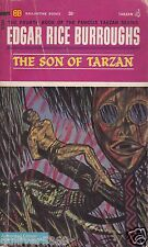 The Son Of Tarzan by Edgar Rice Burroughs (1963~Paperback)