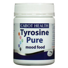 CABOT HEALTH Pure Tyrosine Mood Food 75g  DR SANDRA  No Preservatives