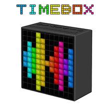 Divoom Timebox LED Bluetooth Lautsprecher Musikbox Sleeptimer Radiowecker WakeUp