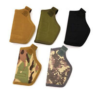 Tactical Molle Pistol Bag Holster Magazine Pouch Hunting Slot Holder 5 Colors