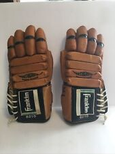 Vintage Retro Franklin 6210 Adult Ice Hockey Gloves Derek Sanderson Model