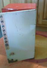 1970 TIN KITCHEN Metal Raggedy Ann Doll Furniture Antique Refrigerator.