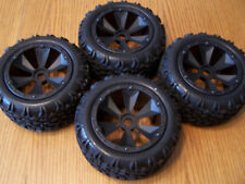 Redcat Terremoto V2 1/8 Front Rear Tires 17mm Beadlock Wheels / Shredder E-revo