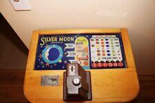 Jennings Silver Moon 5 Cent Slot Machine - 1940's