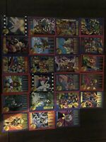 1993 X-MEN SERIES 2 TRADING CARD SET Lot Of 38 Cards