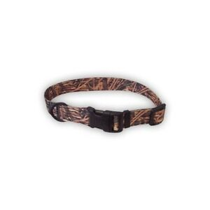 "Coastal Pet Remington Adjustable Camouflage Nylon Collar MEDIUM 14"" -20"" -NEW!!"