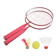 1 Set of Badminton Tennis Rackets Set Parent-Child Game Toys for Kids Sports US