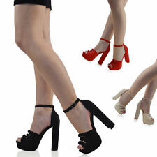 Women's Low (0.5-1.5 in.) Party Strappy, Ankle Straps Heels