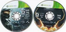 Halo 4 (Microsoft Xbox 360, 2012) *French Disc 1 & 2 Only*