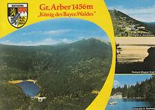 """Alte Postkarte - Gr. Arber 1456m """"König des Bayer. Waldes"""""""