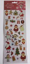 Lindas calcomanías Autoadhesivas Moderna De Navidad-Ideal Para Navidad Manualidades de elaboración de tarjetas