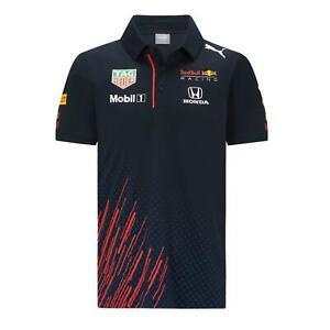 Red Bull Racing Men's Teamline Polo Shirt | Navy | 2021