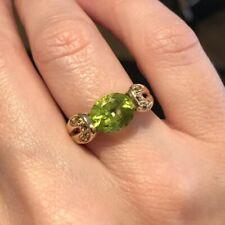 Estate Citrine Ring Size 6.5 14k Gold Stunning
