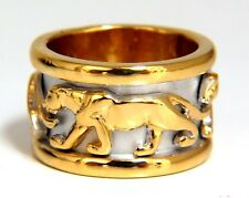 Endless Panther Eternity Ring 14kt
