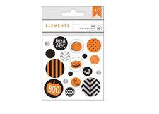 American Crafts Embellishments ~ Epoxy Brads ~ HALLOWEEN ASSORTMENT  ~340389