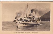 EVIAN-LES-BAINS 107 le lec Léman bateau vapeur